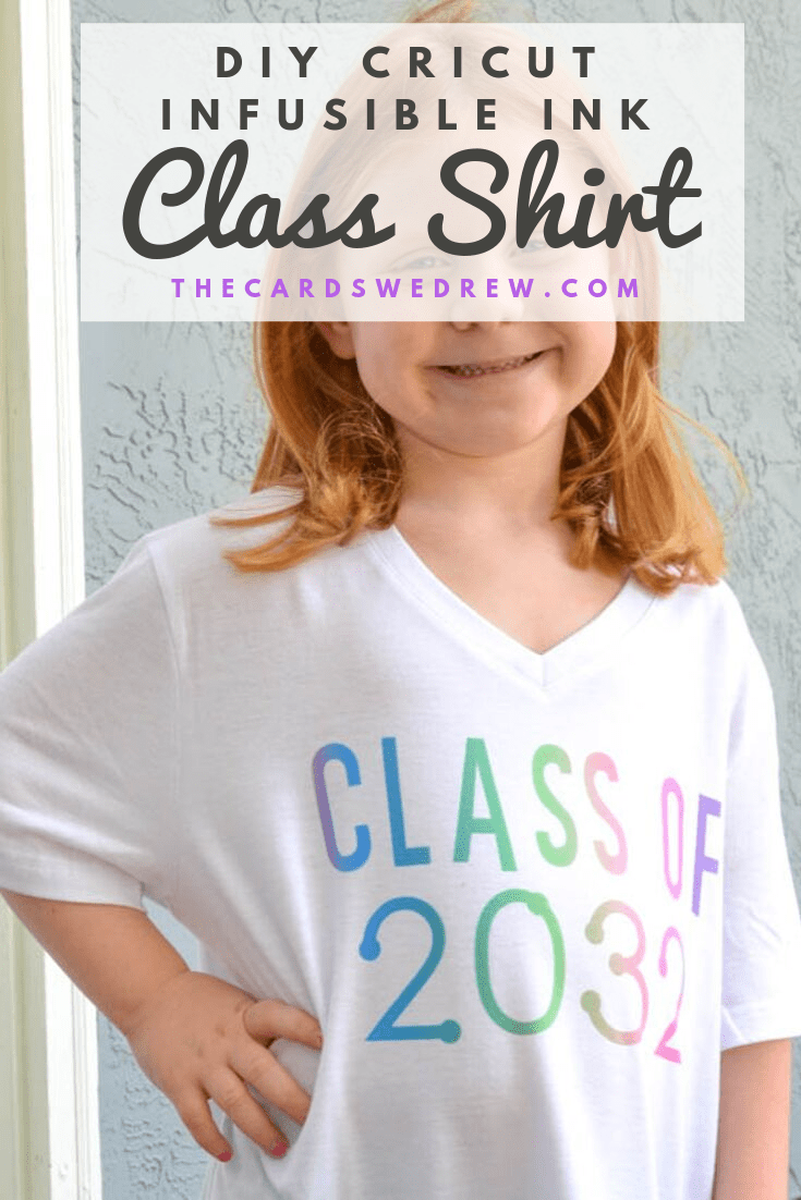 Cricut Infusible Ink Class Shirt