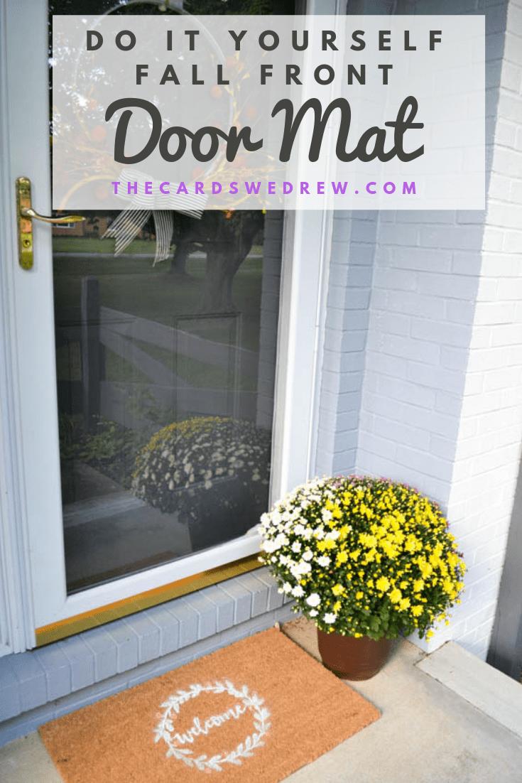 Fall Front Door Mat