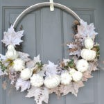 DIY Upcycled Pumpkin Wreath