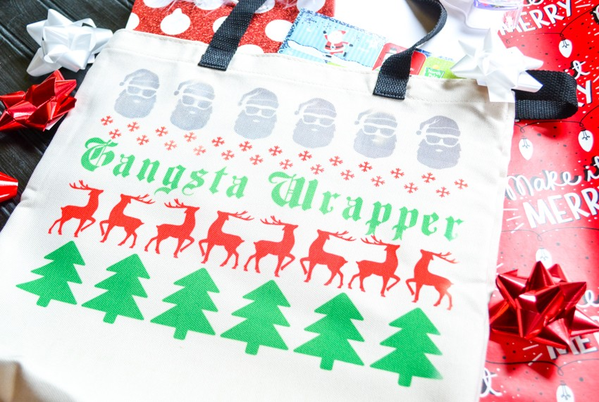 gangsta wrapper white elephant gift