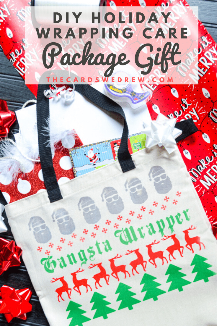 DIY Holiday Wrapping Care Package Gift Idea