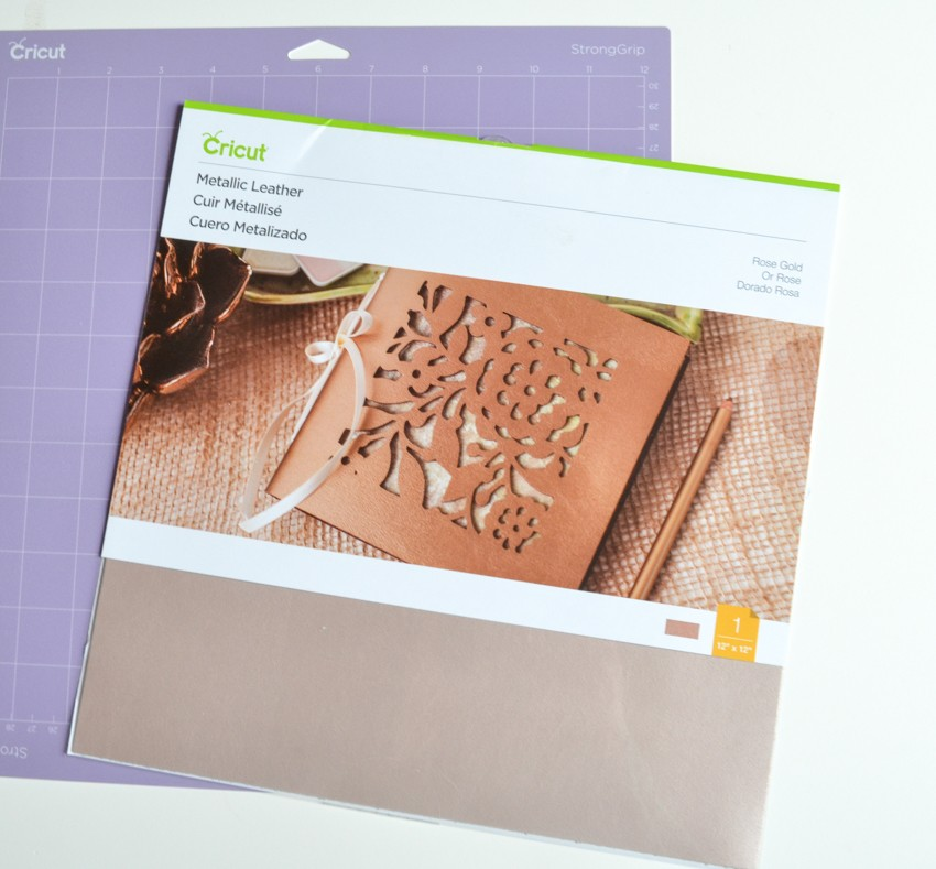 cricut leather