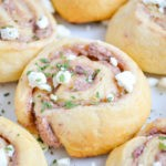 Greek Olive Garlic Crescent Rollups