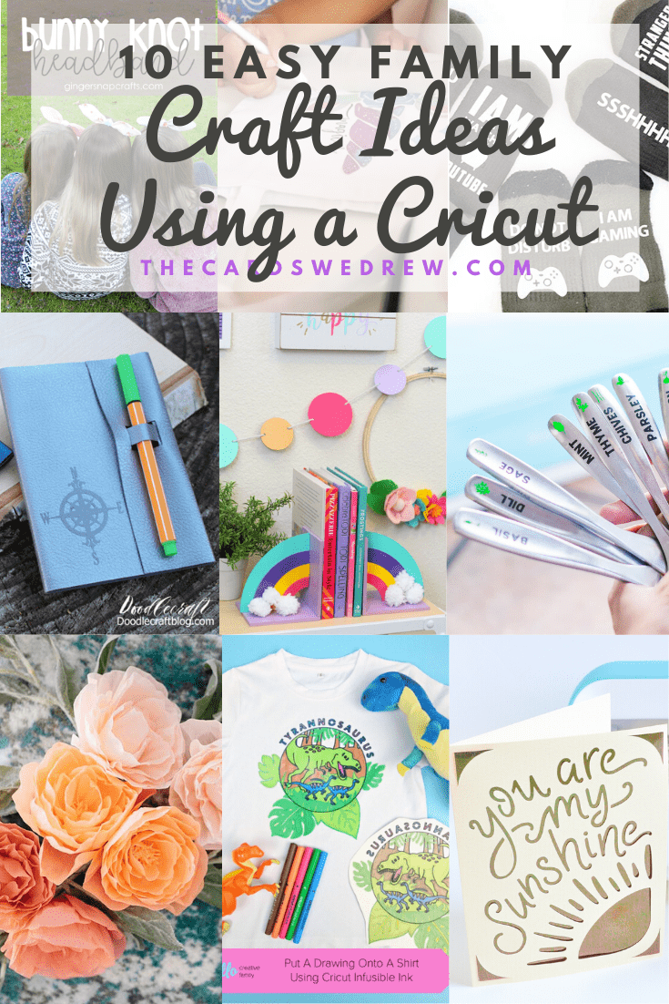 10 Easy Family Craft Ideas Using a Cricut