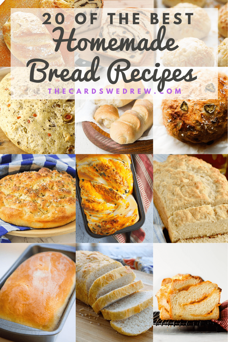 20 of the Best Homemade Bread Recipes
