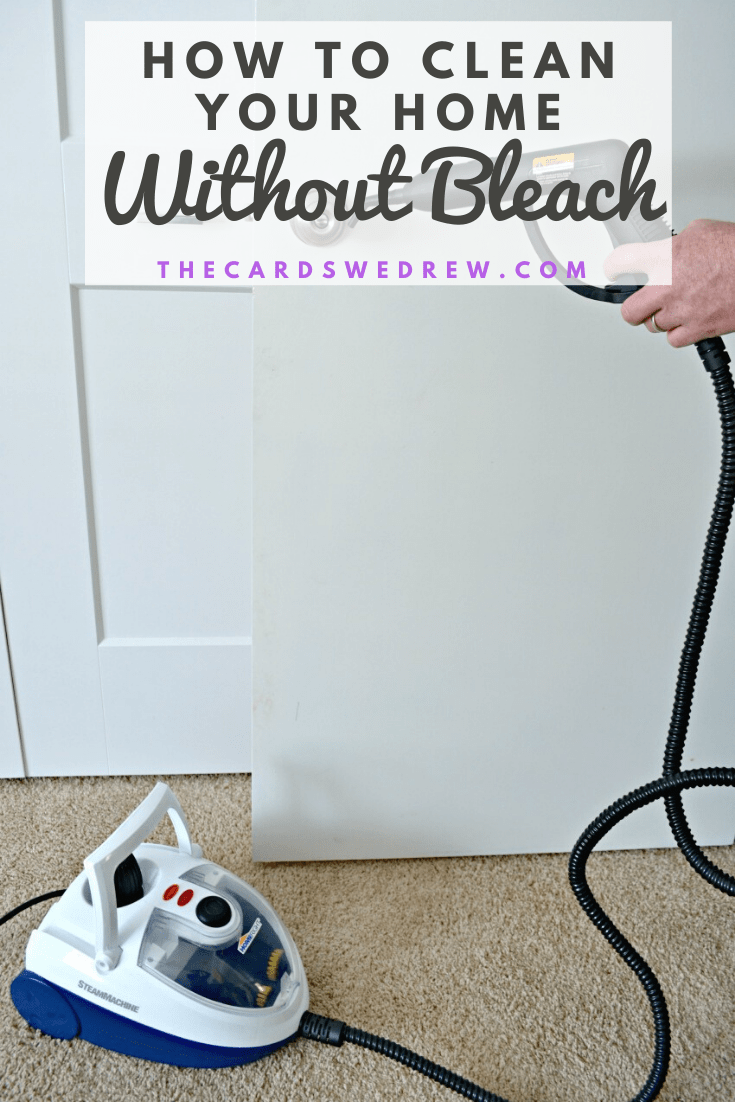 how to clean your home without bleach
