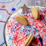 Red White and Blue Oreo Trifle Dessert