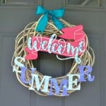 Welcome Summer Wreath