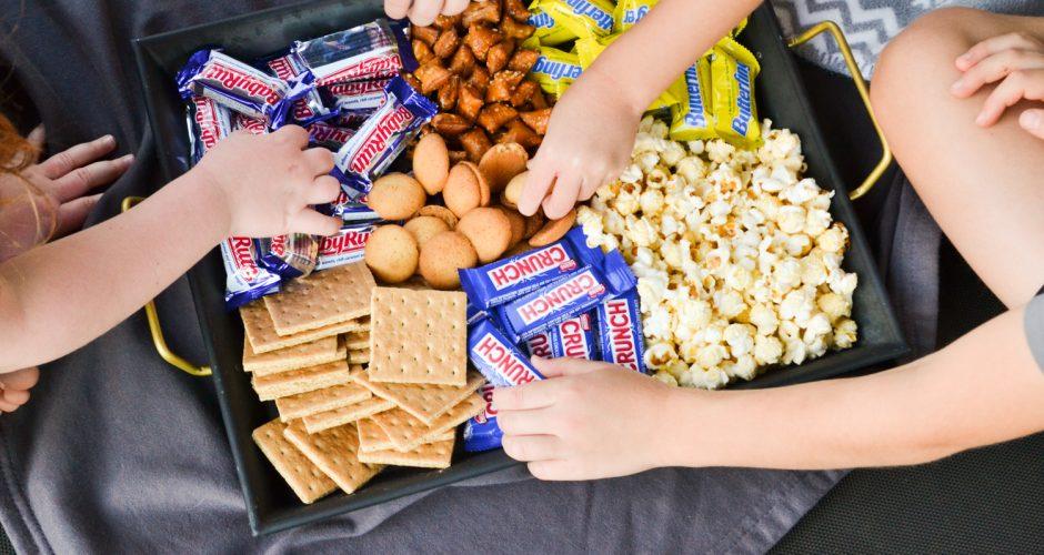 Summer Trampoline Movie Night