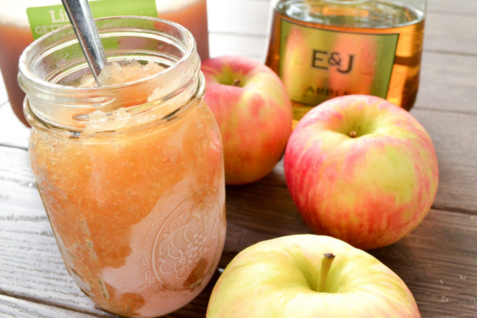 how to make apple cider slushee