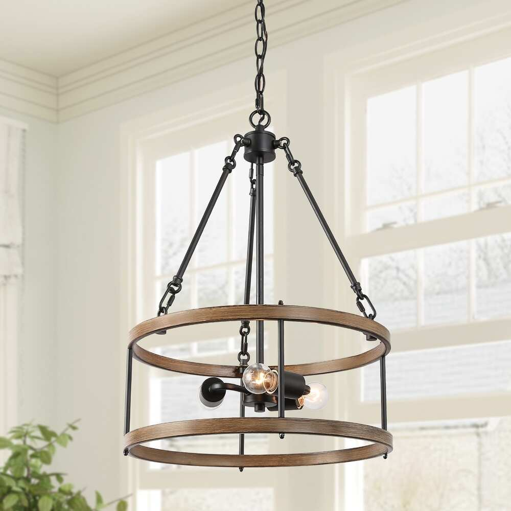 Best modern farmhouse lighting for the kitchen island or dining area