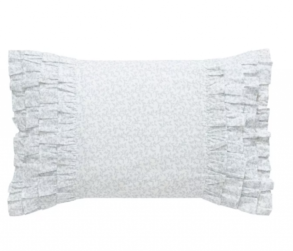 Shabby chic bedroom ideas throw pillow
