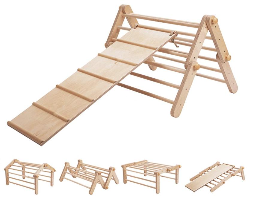 modifiable climbing triangle