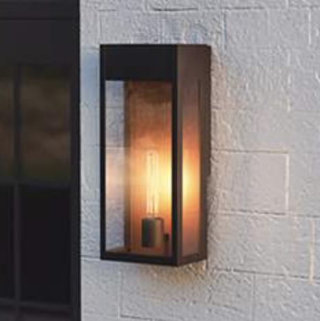 modern outdoor wall light