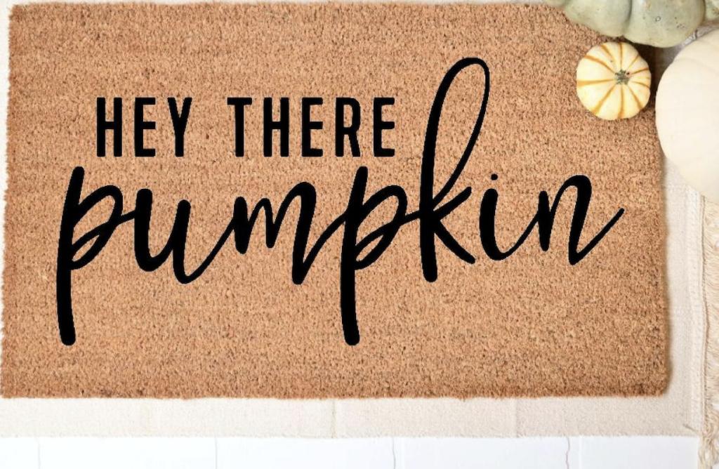 Fall welcome mat