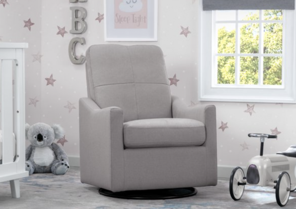 best nursery glider for small spaces
