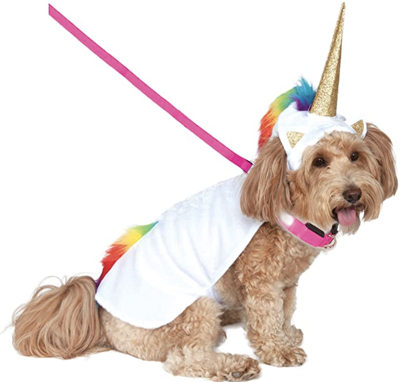 rubie's unicorn dog costume