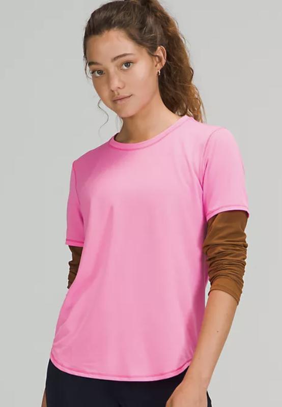 lululemon high neck running short sleeve