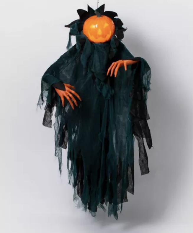 animated pumpkin ghoul
