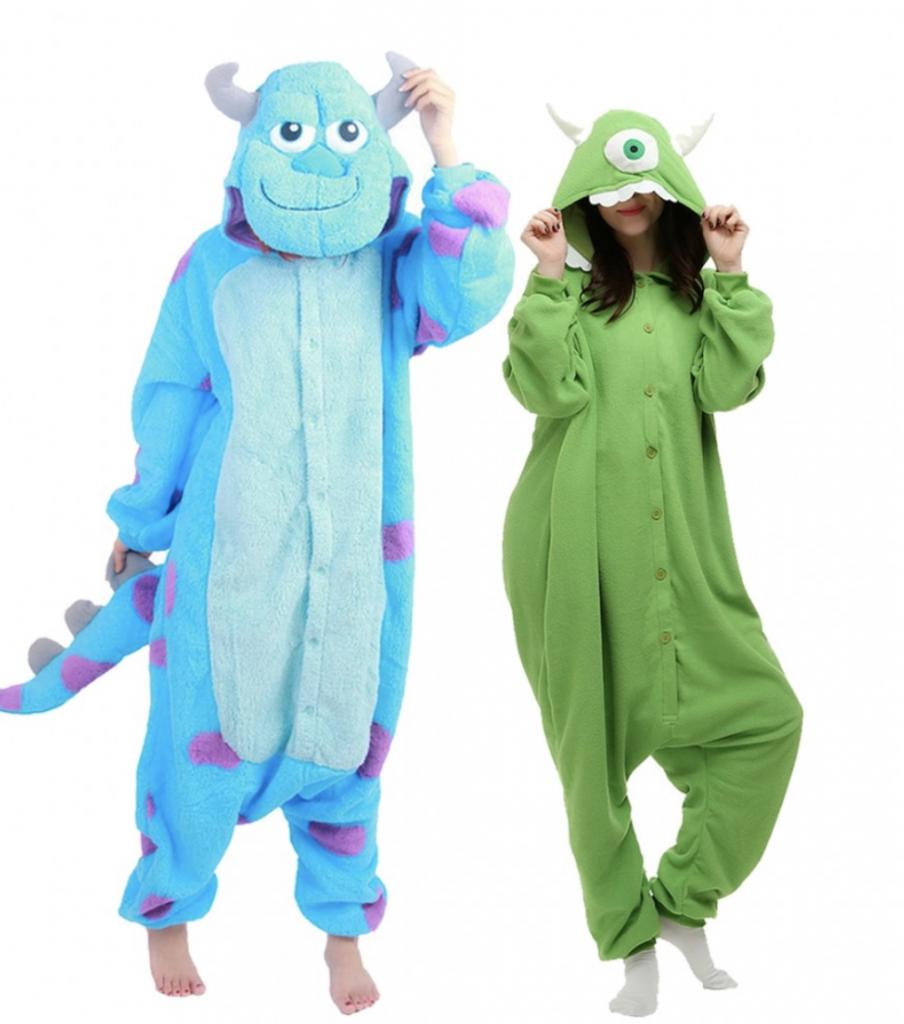 monsters ink adult couples halloween costume