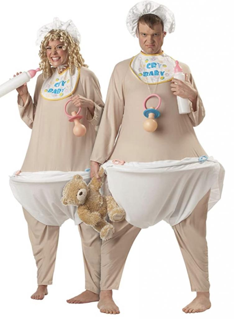 baby couples costume
