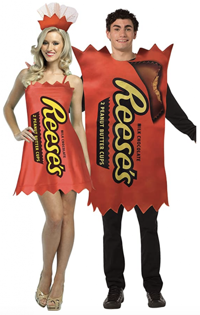 couples reese's costume