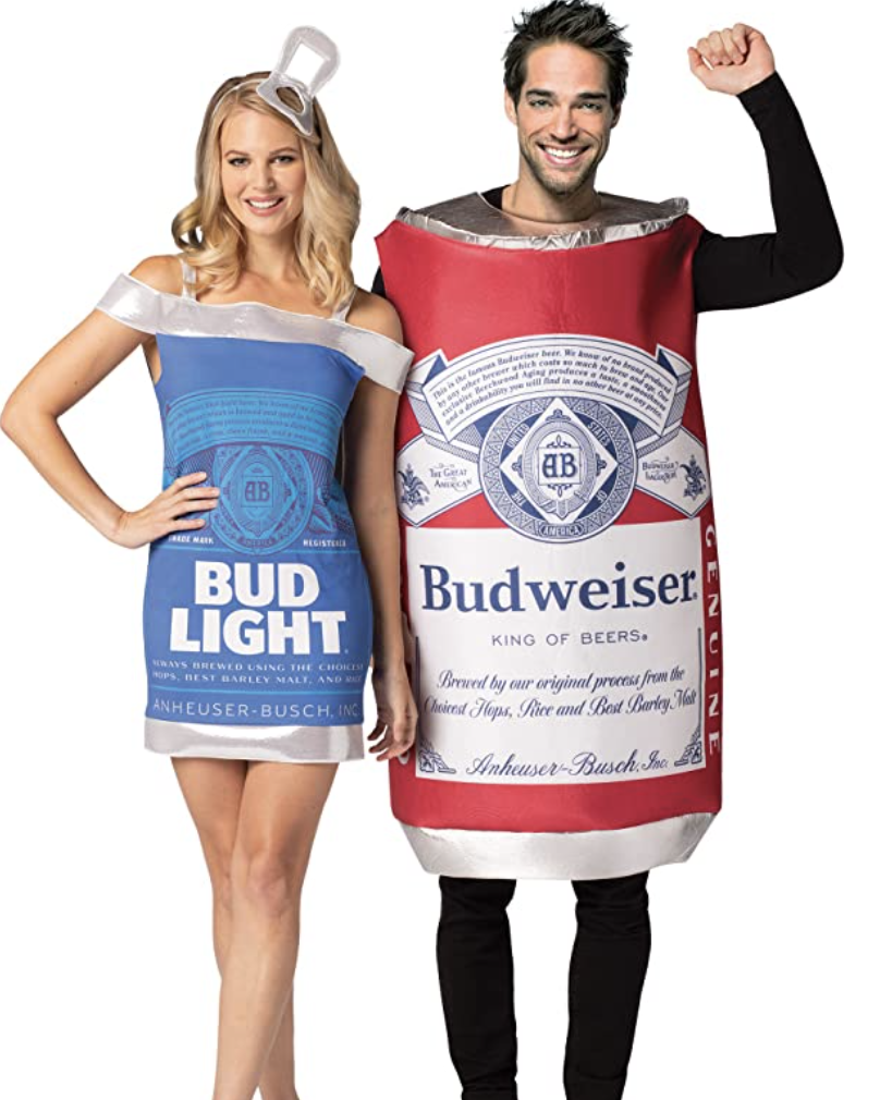 beer couples costume