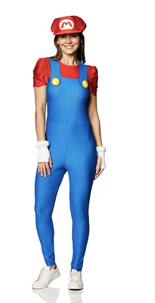 women's mario costume