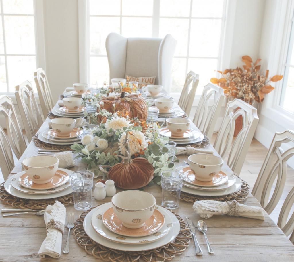creating the perfect fall tablescape