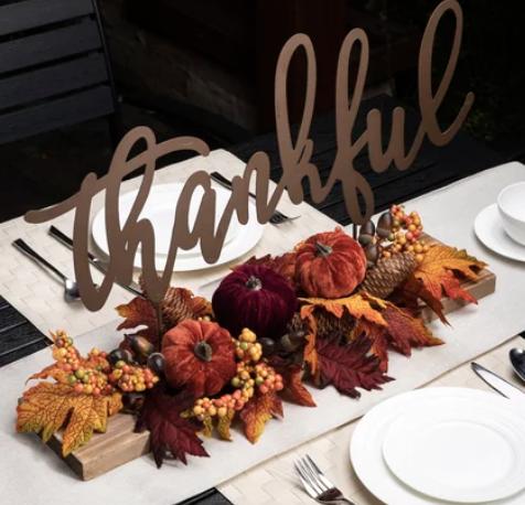 perfect fall tablescape