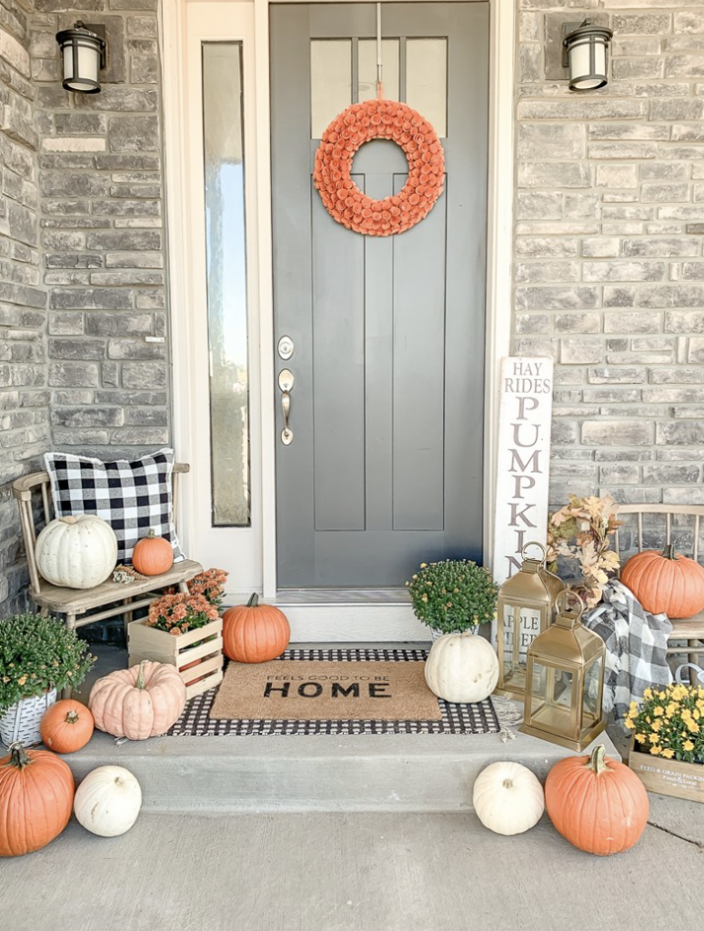 fall front porch ideas of 2021