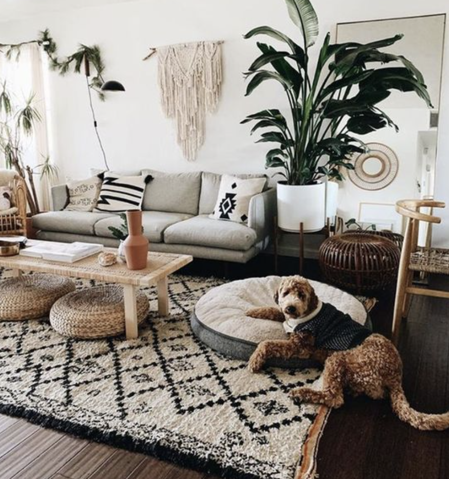boho living room ideas for 2021