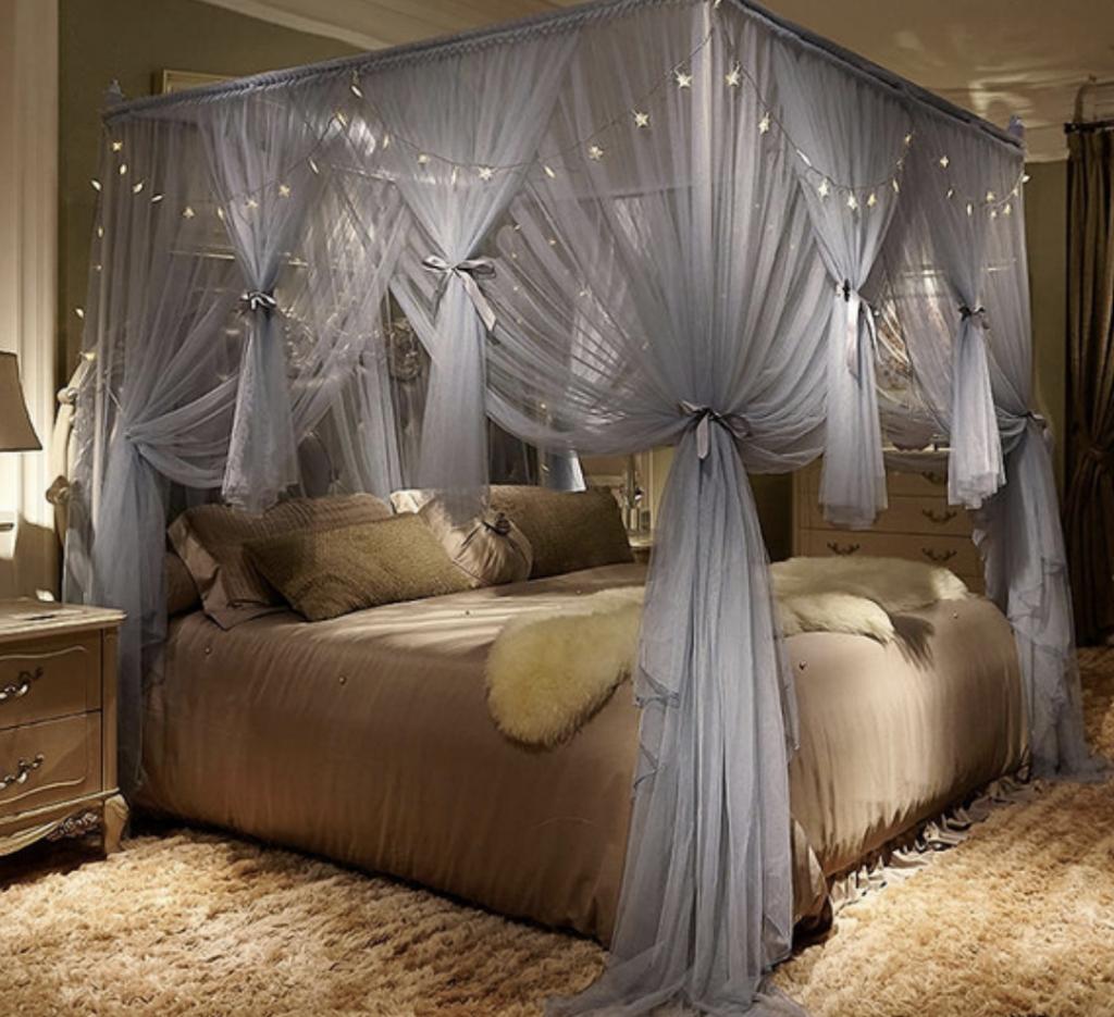 romantic bed canopy