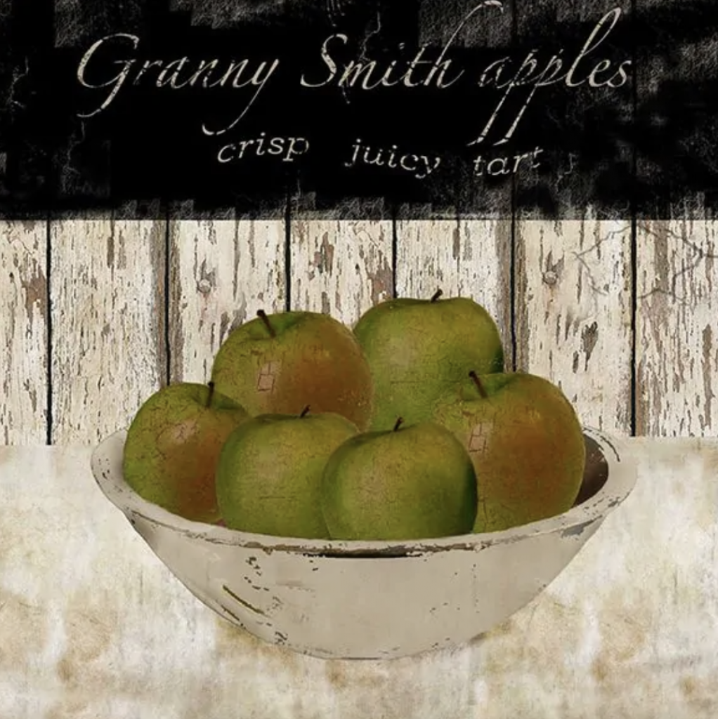 granny apples sign