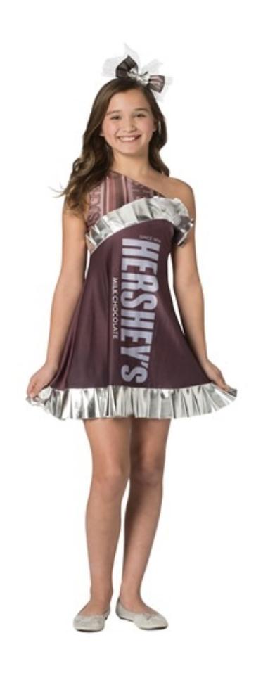 hershey bar costume