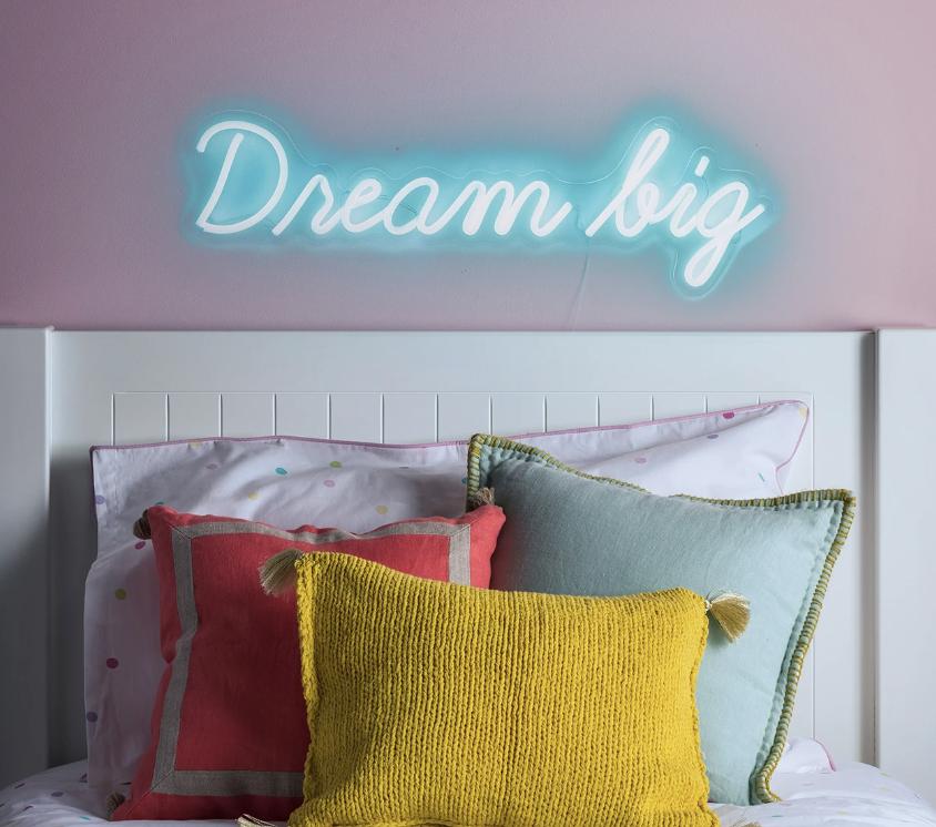 dream big sign