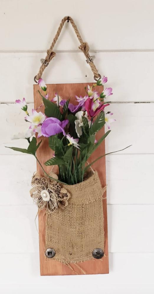 flower pot wall hanging