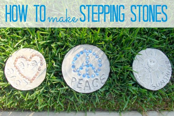 Square Stepping Stone Painting Ideas